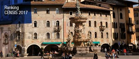 CENSIS rankings: UniTrento still among top universities